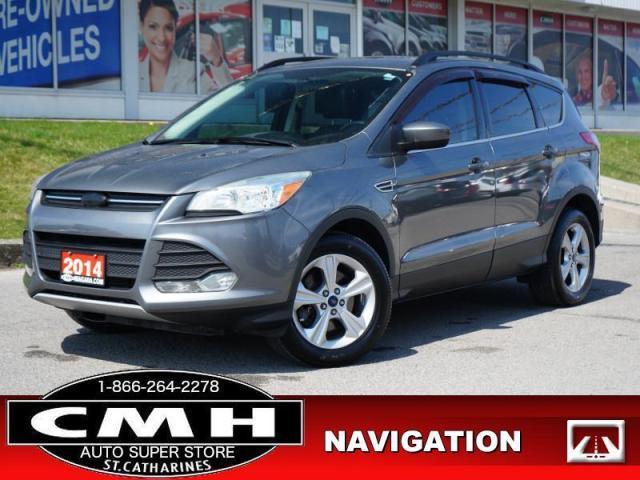 2014 Ford Escape SE  NAV CAM ROOF LEATH P/SEATS HTD-SEATS 17-AL