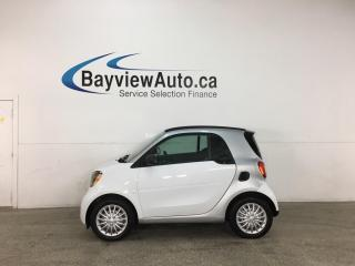 Used 2018 Smart fortwo electric drive Passion - RWD! HTD LEATHER! NAV! 15,000KMS! for sale in Belleville, ON