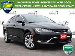 Used 2015 Chrysler 200 Limited Black Beauty for sale in Tillsonburg, ON