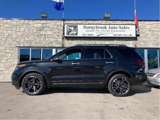 Used 2014 Ford Explorer Sport/4X4/Navigation/Sunroof/leather/Car starter/ for sale in Calgary, AB