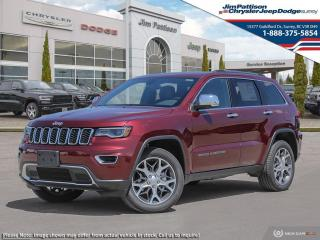 New 2021 Jeep Grand Cherokee Limited for sale in Surrey, BC