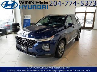 Used 2019 Hyundai Santa Fe Luxury for sale in Winnipeg, MB