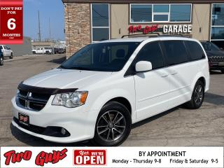 Used 2016 Dodge Grand Caravan SXT Premium Plus | Leather| Nav | for sale in St Catharines, ON