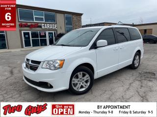Used 2019 Dodge Grand Caravan Crew Plus | Leather | Nav | DVD | Pwr Sliders for sale in St Catharines, ON