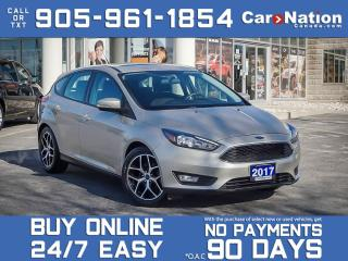 Used 2017 Ford Focus SEL| NAVI| SUNROOF| BACK UP CAM & SENSORS| for sale in Burlington, ON