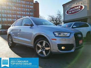 Used 2015 Audi Q3 PROGRESSIV | PANO | AWD | 4 NEW SNOW TIRES* | for sale in Scarborough, ON