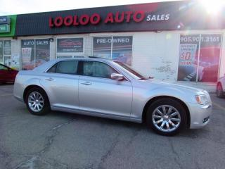 Used 2012 Chrysler 300 Limited 3.6L Panoramic Sunroof Bluetooth Certified for sale in Milton, ON