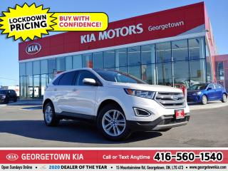 Used 2016 Ford Edge SEL | CLN CRFX | LTHR | NAV | PANO ROOF | B/T |79K for sale in Georgetown, ON