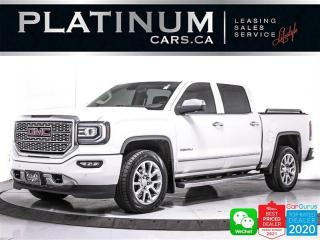 Used 2018 GMC Sierra 1500 Denali, CREW CAB, APPLE/ANDROID, NAV, CAM, HEATED for sale in Toronto, ON