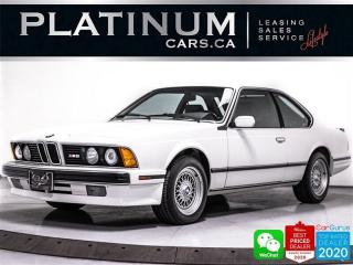 Used 1989 BMW M6 RARE, 1 OF 5 PAINT, ALL ORIGINAL, 2ND LAST M6 PROD for sale in Toronto, ON