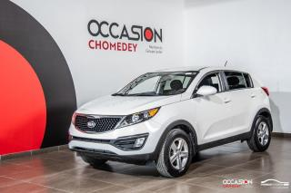 Used 2016 Kia Sportage LX+BLUETHOOTH+SIEGES CHAUFFANTS+REG DE VITESSE for sale in Laval, QC