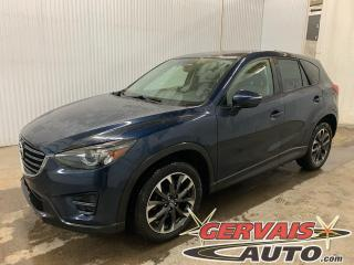 Used 2016 Mazda CX-5 GT AWD Cuir GPS Toit ouvrant Mags Caméra *Traction intégrale* for sale in Trois-Rivières, QC