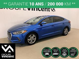 Used 2018 Hyundai Elantra GL ** GARANTIE 10 ANS ** Berline fiable et économique! for sale in Shawinigan, QC