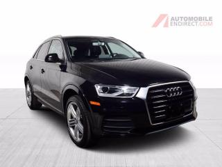 Used 2016 Audi Q3 PROGRESSIV CUIR TOIT PANO MAGS AIR CLIMATISÉ for sale in St-Hubert, QC