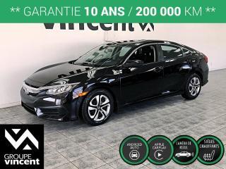 Used 2016 Honda Civic LX ** GARANTIE 10 ANS ** Optez pour une valeur sûre! for sale in Shawinigan, QC