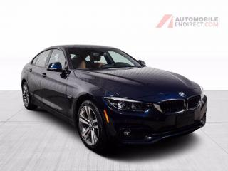 Used 2018 BMW 4 Series 430i Gran Coupé xDrive MSport Cuir Toit GPS Caméra for sale in St-Hubert, QC