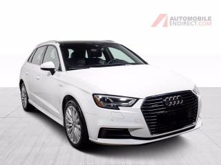 Used 2017 Audi A3 E-TRON TECHNIK CUIR BRUN TOIT PANO MAGS for sale in St-Hubert, QC
