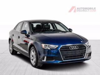 Used 2017 Audi A3 KOMFORT CUIR TOIT PANO MAGS for sale in St-Hubert, QC