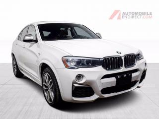 Used 2018 BMW X4 M40i xDrive Cuir Toit GPS Sièges Chauffants Caméra for sale in St-Hubert, QC