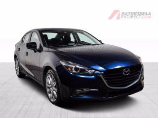 Used 2018 Mazda MAZDA3 GT A/C MAGS TOIT CAMERA DE RECUL for sale in St-Hubert, QC
