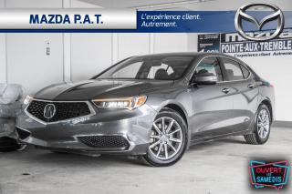 Used 2018 Acura TLX AUTOMATIQUE,CAMÉRA DE RECUL,BLUETOOTH,GPS,TOIT OUV for sale in Montréal, QC