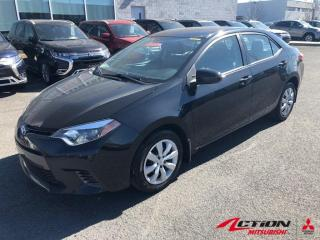 Used 2015 Toyota Corolla CE+AUTOMATIQUE+AIR CLIMATISÉ+CAMÉRA+BLUETOOTH for sale in St-Hubert, QC