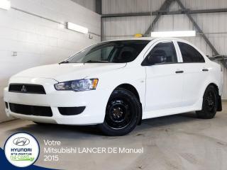 Used 2015 Mitsubishi Lancer DE MANUELLE for sale in Val-David, QC