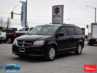 Used 2016 Dodge Grand Caravan SXT ~Nav ~Bluetooth ~Stow 'N Go ~Dual Zone Air for sale in Barrie, ON
