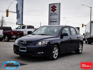 Used 2009 Mazda MAZDA3 GX ~Power Windows + Locks ~A/C ~Alloy Wheels for sale in Barrie, ON