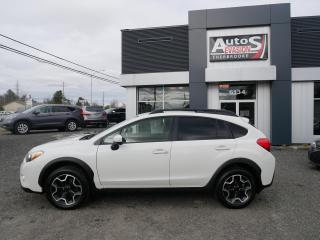 Used 2015 Subaru XV Crosstrek 2.0 AWD TOURING + SHIFT PADDLE + INSPECTÉ for sale in Sherbrooke, QC