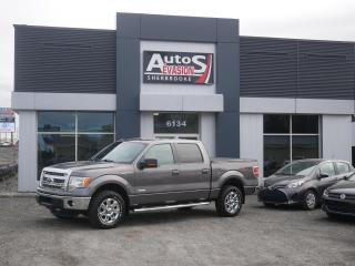 Used 2014 Ford F-150 XLT 4 X 4 CREW CAB + INSPECTÉ + ECOBOOST for sale in Sherbrooke, QC