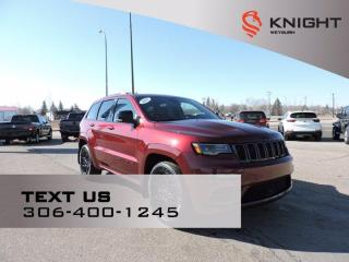 New 2021 Jeep Grand Cherokee Limited X | B/U Camera | Nav | Panoramic Sunroof | Gloss Black Accents Pkg | 9 Alpine Speakers for sale in Weyburn, SK