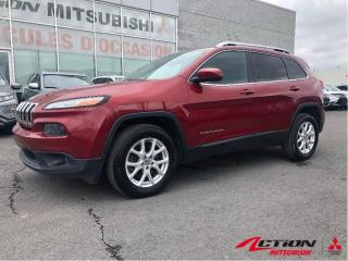 Used 2014 Jeep Cherokee NORTH+4WD+A/C+VOLANT CHAUFFANT+V6+CAMÉRA+GR. ÉLECT for sale in St-Hubert, QC