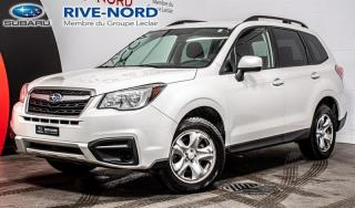Used 2018 Subaru Forester BLUETOOTH+CAM.RECUL+SIEGES.CHAUFFANTS for sale in Boisbriand, QC