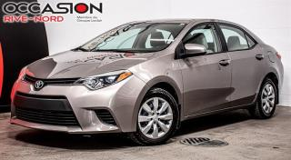 Used 2014 Toyota Corolla LE SIEGES.CHAUFFANTS+BLUETOOTH+CAM.RECUL for sale in Boisbriand, QC