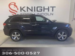 Used 2014 Jeep Grand Cherokee Limited, Loaded, Accident Free, Low Km's! for sale in Moose Jaw, SK
