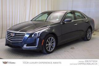 Used 2018 Cadillac CTS Sedan Luxury AWD*LEATHER*SUNROOF*NAV* for sale in Regina, SK