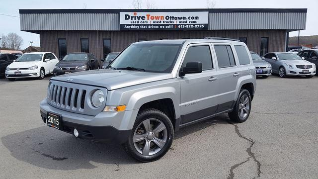 2015 Jeep Patriot High Altitude 4x4 **LEATHER**MOONROOF**