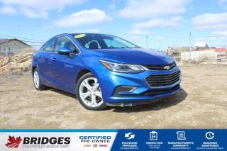 Used 2017 Chevrolet Cruze Premier**Wireless Charging | Remote Start | Heated Seats** for sale in North Battleford, SK