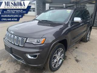 New 2021 Jeep Grand Cherokee Overland  - Leather Seats for sale in Bracebridge, ON
