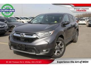 Used 2017 Honda CR-V AWD 5dr EX-L | Heated Steering Wheel for sale in Whitby, ON