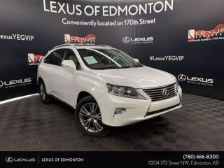 Used 2013 Lexus RX 350 TOURING PACKAGE for sale in Edmonton, AB