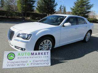 Used 2014 Chrysler 300 AWD, PANI ROOF, LEATHER, INSP, FREE WARR & BCAA MEMBERSHIP for sale in Surrey, BC
