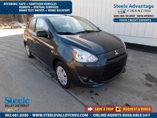Used 2014 Mitsubishi Mirage ES - VALUE PRICED !! ONLY 86,000 km !! 5 spd !! for sale in Kentville, NS
