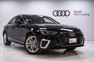 New 2021 Audi A4 Sedan TECHNIK for sale in Winnipeg, MB