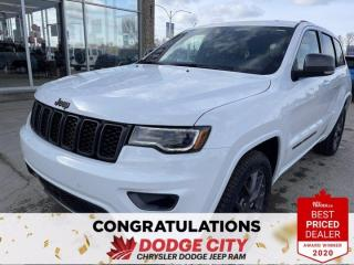 New 2021 Jeep Grand Cherokee 80th Anniversary Edition for sale in Saskatoon, SK