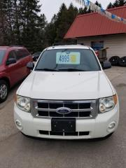 Used 2009 Ford Escape XLT for sale in Oro Medonte, ON