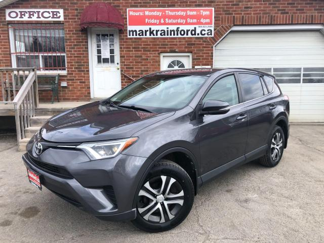 2016 Toyota RAV4 LE FWD 2.5 Litre 4 Cylinder Automatic