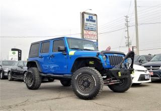 Used 2015 Jeep Wrangler No accident |4WD |Sahara|Custom modified|Certified for sale in Brampton, ON
