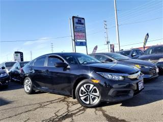 Used 2016 Honda Civic No accidents |1 Ownr |Man LX |off lease|Certified for sale in Brampton, ON